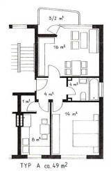 2-Zimmer-Eigentumswohnung mit Balkon Zentral gelegen